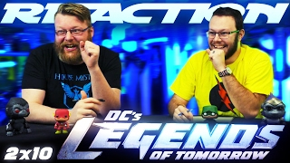 "Legends of Tomorrow 2x10 REACTION!! ""The Legion of Doom"""
