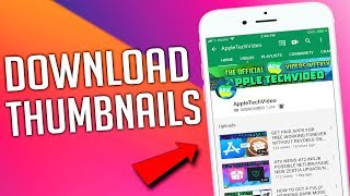 How To Download YouTube Thumbnails On Phone!