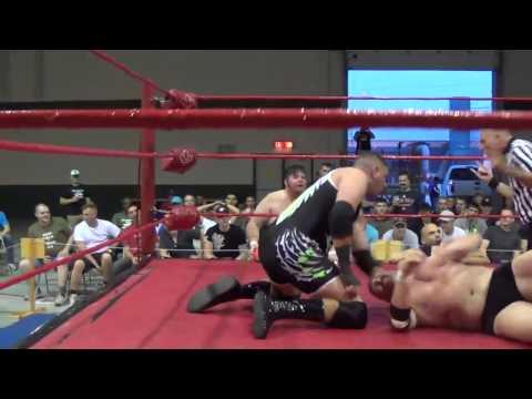 PWA Wrestling:  Sid Summers vs Derek Platinum (July18/14)
