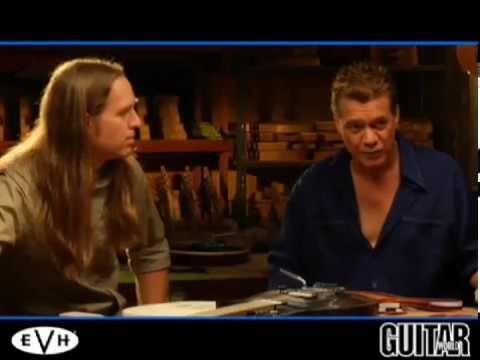 EVH Eddie Van Halen The Making Of WolfGang Guitar