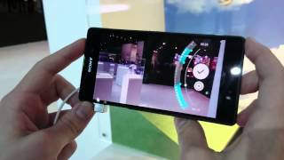 MWC 2014: Sony Xperia Z2 Slow Motion Video Funktion angeschaut
