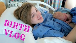 THE BIRTH OF OUR DAUGHTER! | BIRTH VLOG