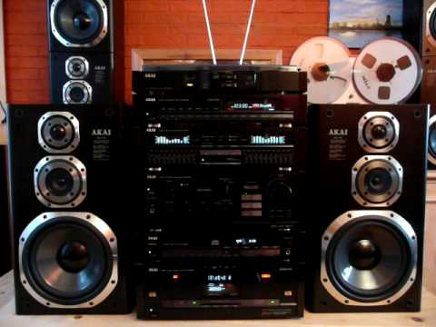 akai hifi audio stereo topline series 39 clarity gx compo 730 39 1988 480p youtube. Black Bedroom Furniture Sets. Home Design Ideas