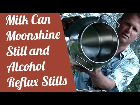 Moonshine still and Alcohol stills reflux Distiller Distilling