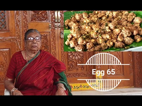 Tasty Egg 65 Recipe by my grandma