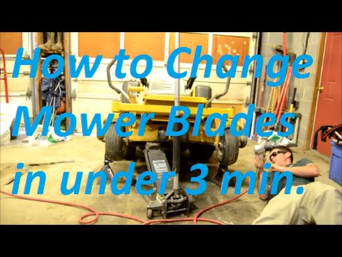 How to Change Lawn Mower Blades in Under 3 Minutes
