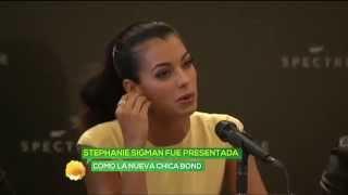 Stephanie Sigman es la nueva 'Chica Bond'