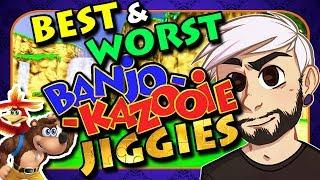 The Best & Worst Banjo-Kazooie Jiggies - gillythekid