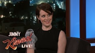 Claire Foy on Golden Globes, Stevie Wonder & Disneyland
