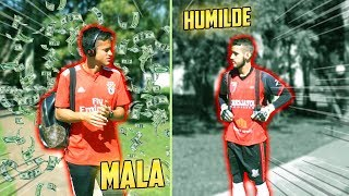 GOLEIRO MALA vs GOLEIRO HUMILDE!!