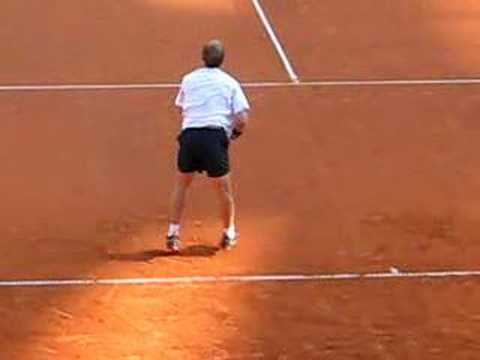 テニス Masters Hamburg 2008: Schüttler-Nieminen: Great Point