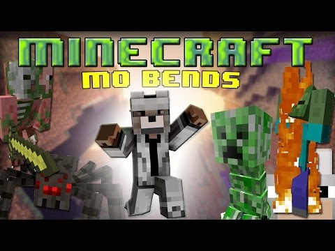 Minecraft Mods - Mo' Bends 1.7.2 Review and Tutorial. BEND EVERYTHING!!