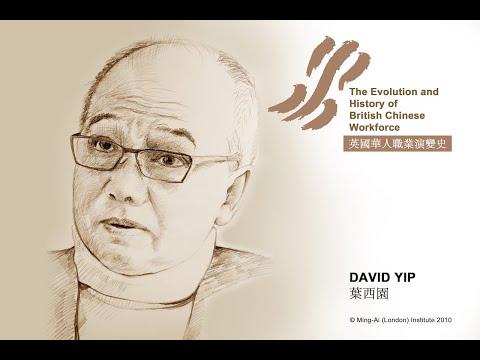 David Yip: The Evolution and History of British Chinese Workforce