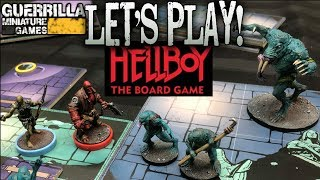 Let's Play! - Hellboy the Board Game by Mantic Games