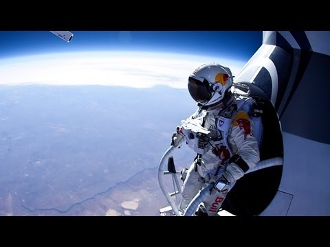 Felix Baumgartner Poised to Break Sound Barrier in Record-Smashing 22-mile Sky Dive