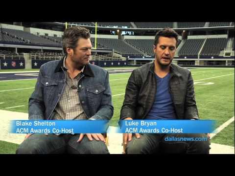Blake Shelton and Luke Bryan 3 favorite the about Dallas/ Ft. Worth