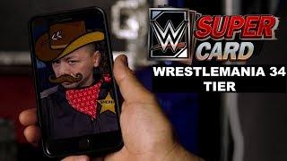 WWE SuperCard - New WrestleMania 34 Tier