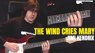 """The Wind Cries Mary"" by Jimi Hendrix - Guitar Lesson w/TAB - MasterThatRiff! 61"