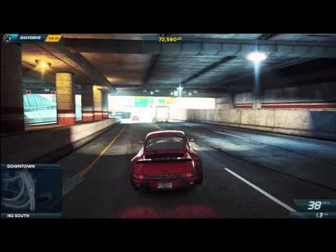 Porsche 911 Turbo 3.0 - Review/Gameplay NFS: Most Wanted 2012 - NFS001