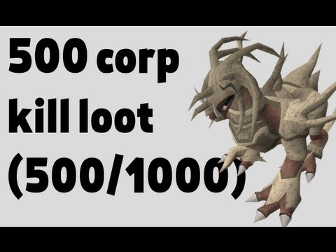 500/1000 Corp beasts killed