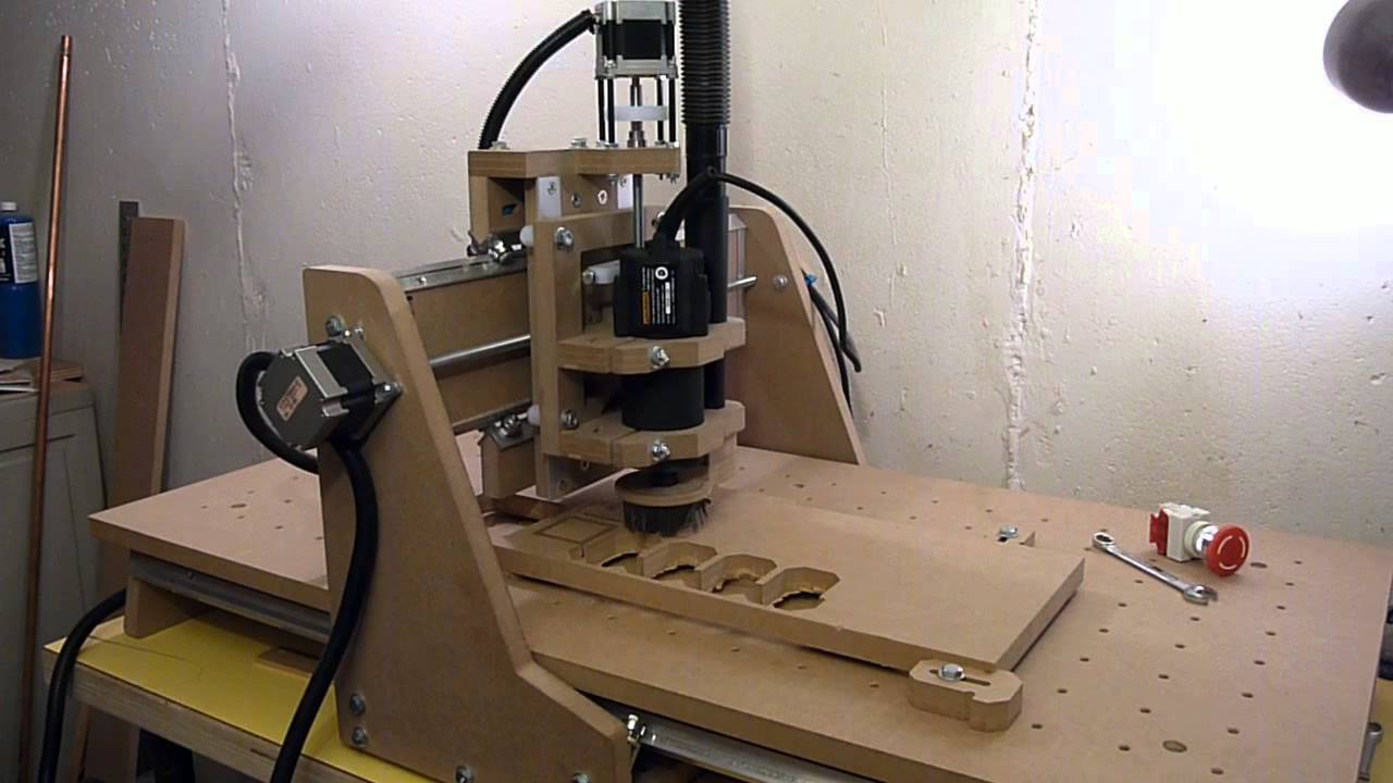 Homemade DIY CNC Router Cutting E-Stop Box - YouTube