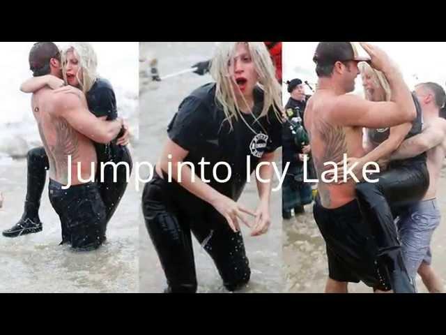 Lady Gaga & Taylor Kinney Jump Into Icy Lake - Taylor Swift Tweet