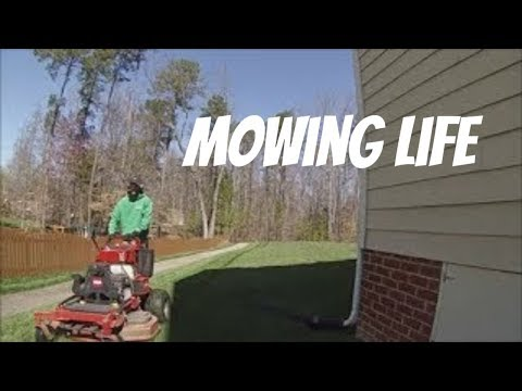 Mowing again, Struggles, Season 5 in Lawn Care, Vlog 2