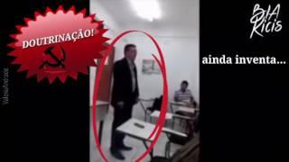 Exemplos ( flagras) de doutrinação nas escolas Escola sem Partido já!