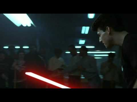 Tom Cruise Star Wars from Color of Money