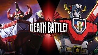 Power Rangers VS Voltron | DEATH BATTLE!