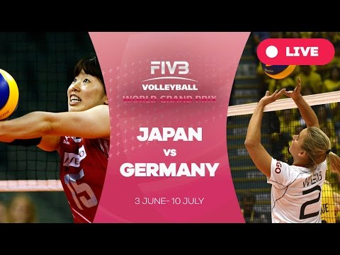 Japan v Germany - Group 1: 2016 FIVB Volleyball World Grand Prix