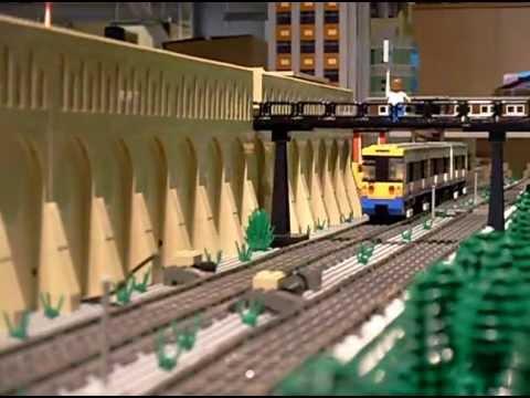 Lego London Underground Battery Loco & London Overground Train ...
