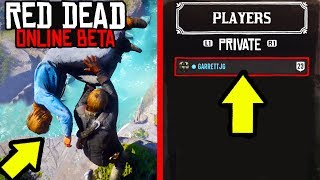 HOW TO CREATE PRIVATE LOBBIES in Red Dead Online! Passive Mode in RDR2 Online Made Easy!