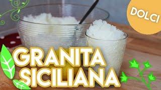 Vera GRANITA SICILIANA al limone (sorbet) #16.