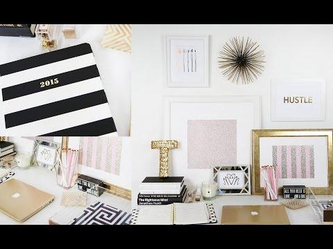 Workspace Tour: My Desk!   Beauty Blogger   Teni Panosian