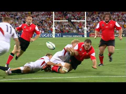 RWC 2003 Top Moments No.10 Jonny Wilkinson tackle and strip vs Wales