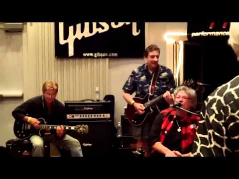 Child Jamming with Leslie West performs Proud Mary
