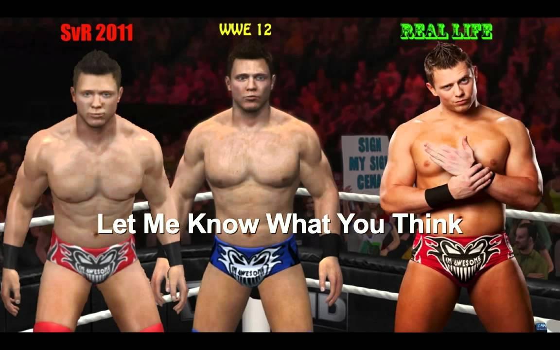 The Miz Real World WWE  12 and Real Life Miz