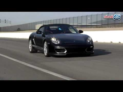Porsche Boxster Spyder Track Video by Inside Line Video