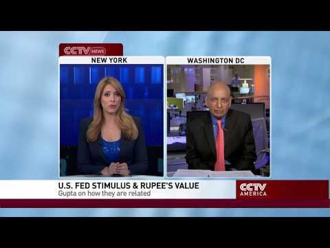 Anil Gupta on Falling Indian Rupee