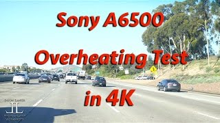 Sony A6500 Overheating Test in 4K!  Does the A6500 shut off in 4K in ACTUAL Shooting Conditions