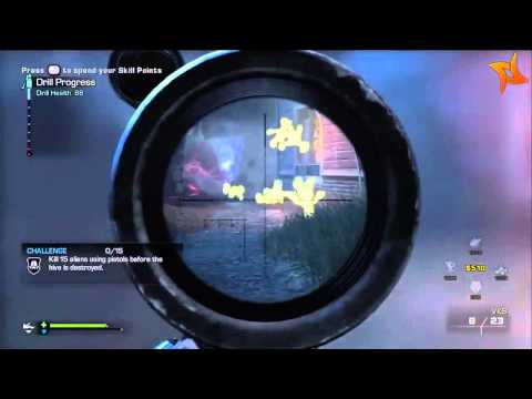 Call Of Duty: Ghosts Extinction Easter Egg - Teddy Bear Aliens Easter Egg!