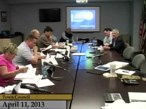 Enfield, CT, USA - Town Council - Budget Hearings FY13/14 - April 11, 2013