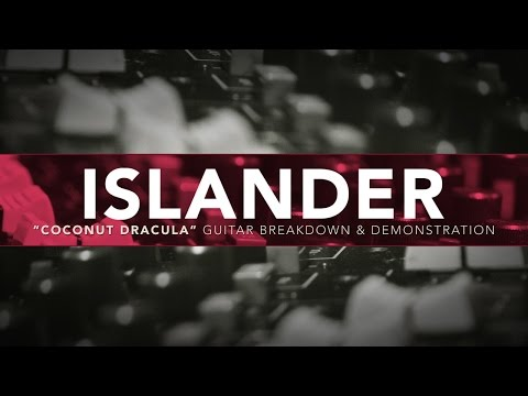 "ISLANDER ""Coconut Dracula"" Guitar Breakdown & Demonstration"