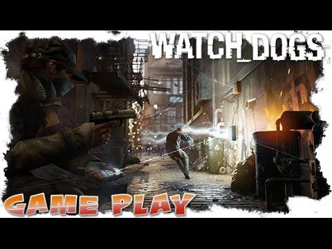 "Watch Dogs ""ctOS Control Center/Brandon Docks"" Random Gameplay."