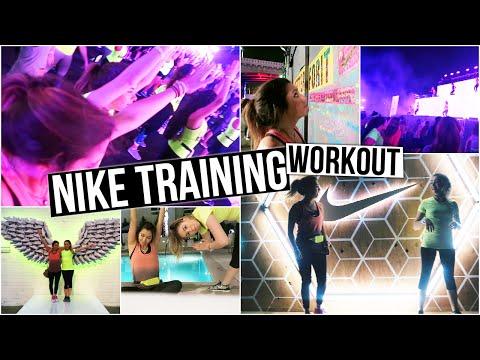 Nike Women Ntc Tour, Tara & Jill Workout video