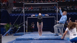 Florida Gymnastics: Alex McMurtry Perfect 10.0 Bars 2-10-17