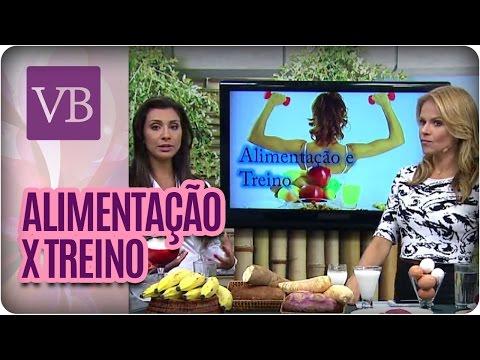 Você Bonita - Alimentação e Treino (26/01/16)