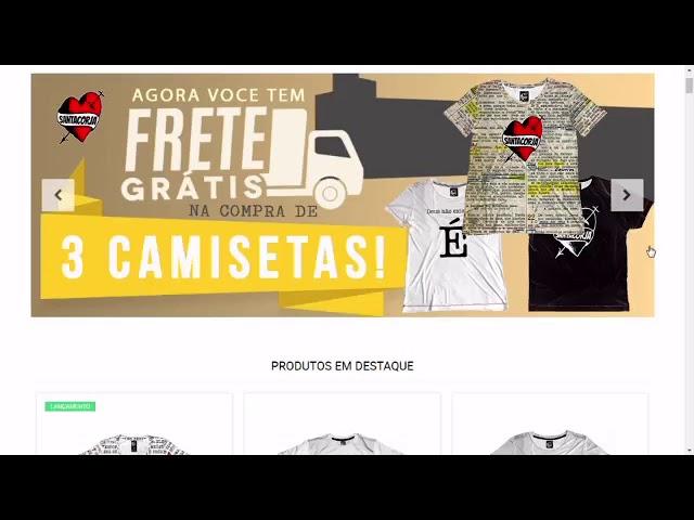 Camisetas Regatas! Agora na www.santacorja.com.br