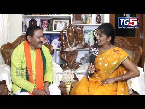 BJP Party Maheshwaram Contested MLA Kolan Shanker Reddy Mukha Mukhi | Face To Face | Tg5 News